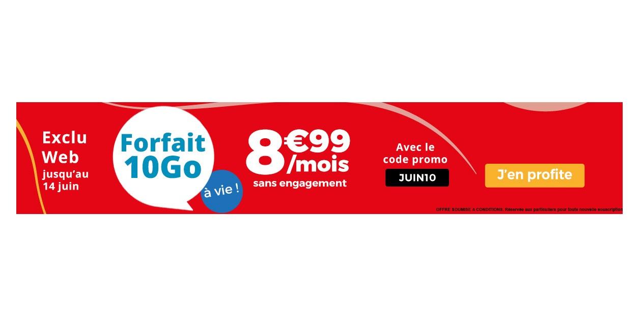 Exclu web : Auchan Telecom lance un forfait 10 Go à 8.99 euros à vie !
