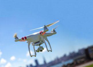 Un drone DJI Phantom