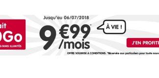 NRJ Mobile lance un forfait 20 Go à 9.99 euros et c'est à vie !