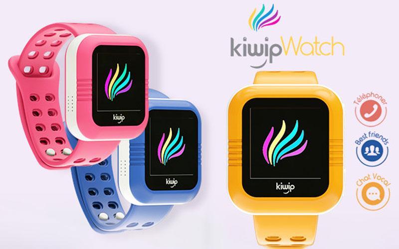 KiwipWatch : une montre connectée autonome pour les enfants