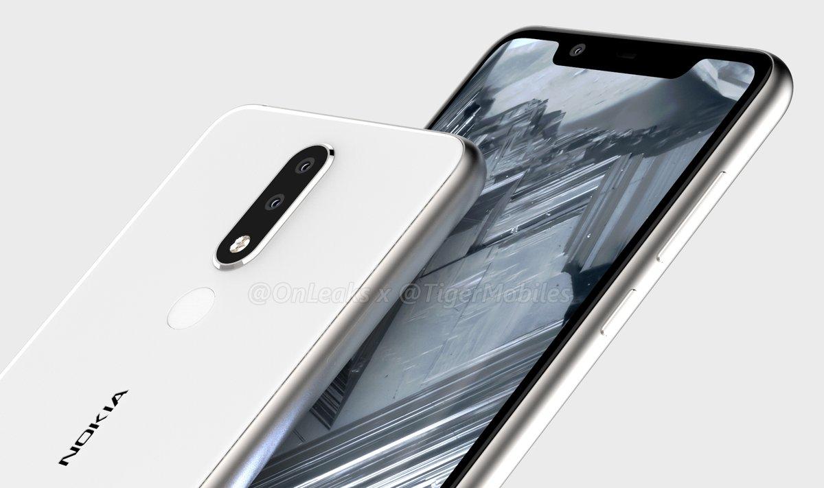 Nokia 5.1 Plus : un nouveau smartphone à encoche en cours de préparation