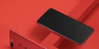 OnePlus 5T 128 Go Rouge