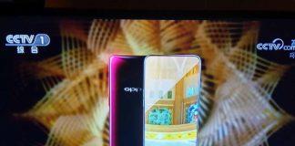 Oppo Find X apparaît sur CCTV-1