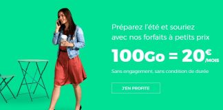 RED by SFR forfait 100 Go