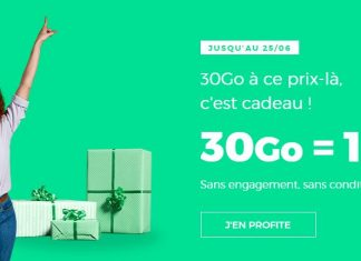 RED by SFR forfait 30 Go