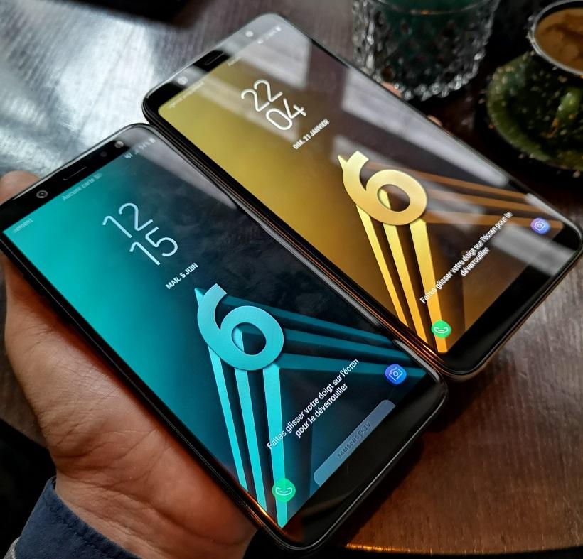 Prise en main : faut-il vraiment craquer pour les Samsung Galaxy A6 et A6+ ?