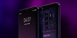 Samsung Galaxy S10 - un concept avec trois capteurs photo