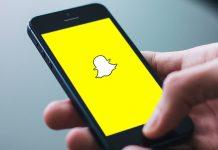 Snapchat sur mobile