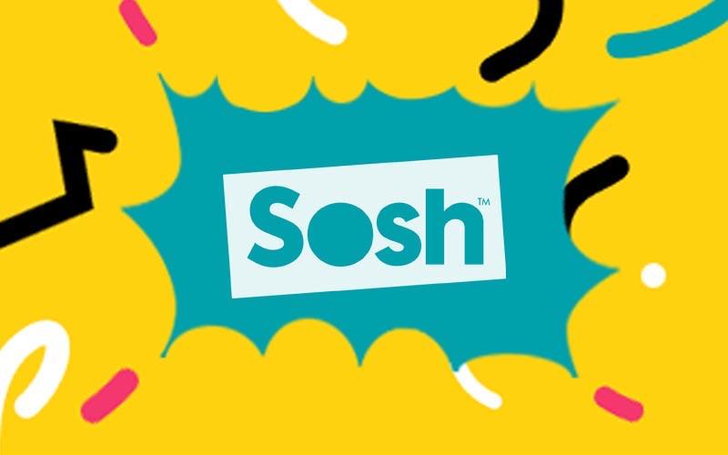 Le forfait Sosh 50 Go passe de 24.99 euros à 9.99 euros !