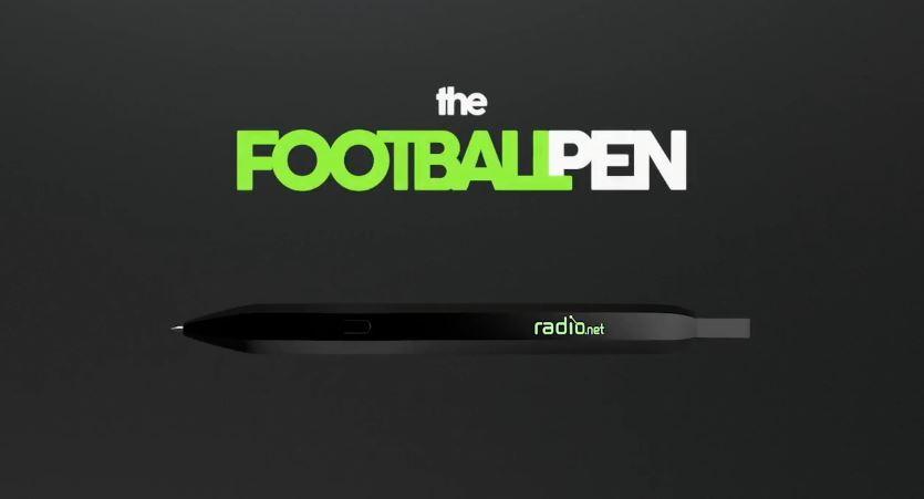 Footballpen, mordillez ce stylo pour écouter la Coupe du monde de football !