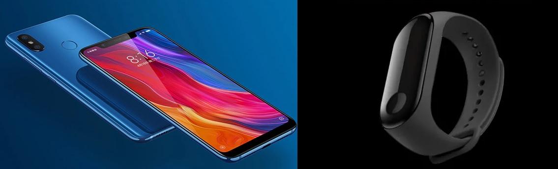 Bon plan GearBest : Xiaomi Mi 8 à 496 euros et Xiaomi Mi Band 3 à 30 euros