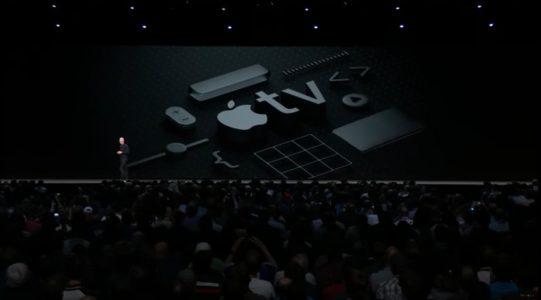 apple tv 541x300 - WWDC 18 : en plus d'iOS 12 et autres OS, Apple présente implicitement l'iPad X