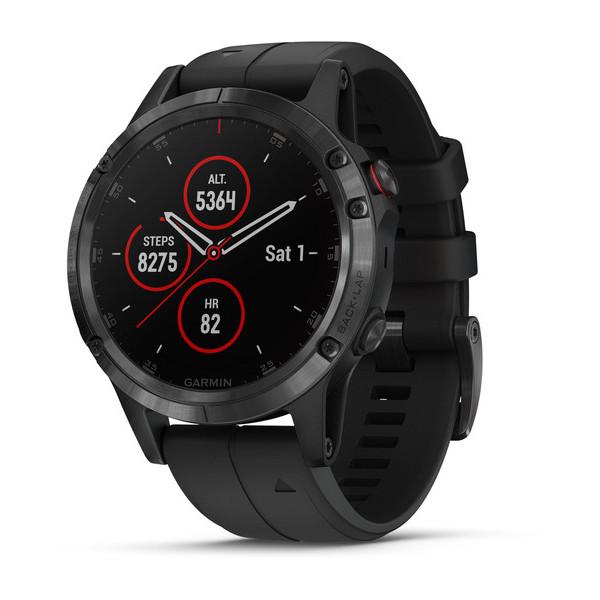 fenix 5 Plus face - Fénix 5 Plus : Garmin nous dévoile ses nouvelles montres connectées !