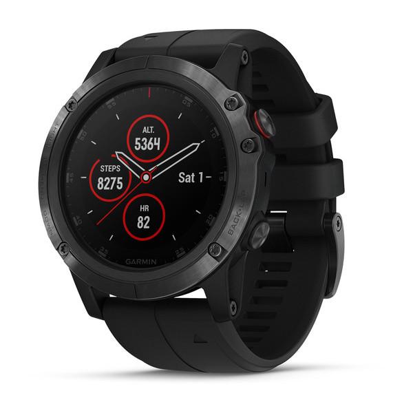 finix 5X Plus - Fénix 5 Plus : Garmin nous dévoile ses nouvelles montres connectées !