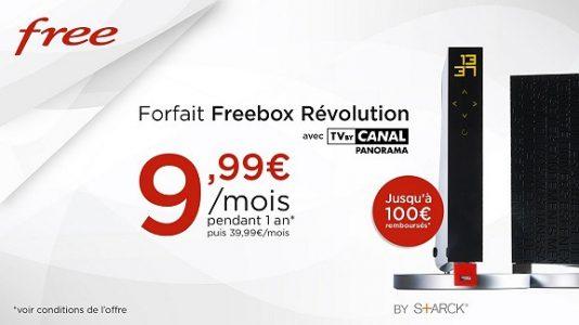 freebox revolution 2 534x300 - Prolongation de l'offre Freebox Revolution avec TV by Canal