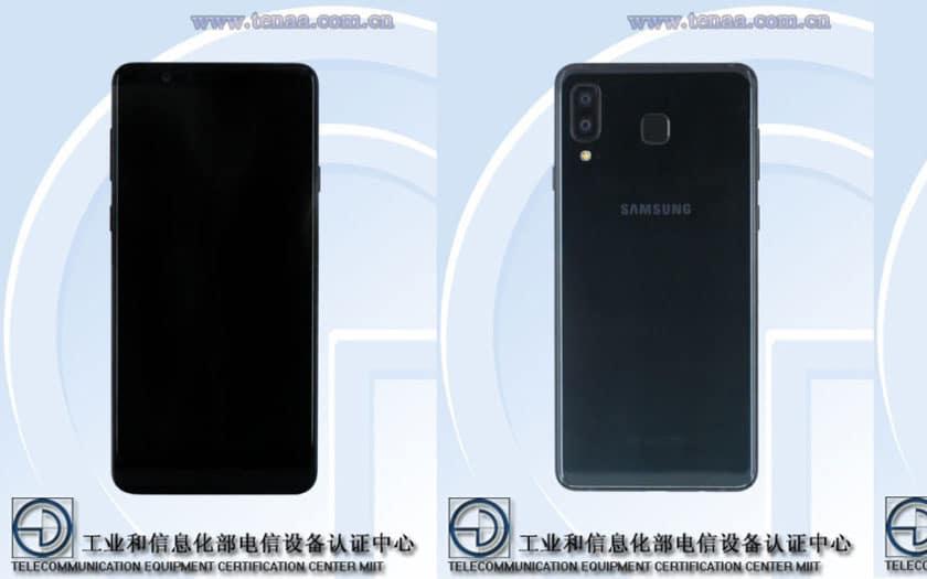 Le Samsung Galaxy S9 Plus Lite est de passage chez TEENA