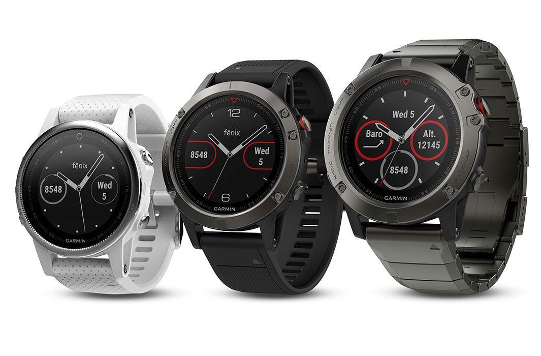 Fénix 5 Plus : Garmin nous dévoile ses nouvelles montres connectées !