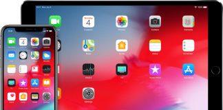 iOS 12 iPhone X iPad