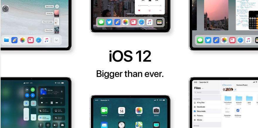 iOS 12 : des nouveautés intéressantes ont été remarqué