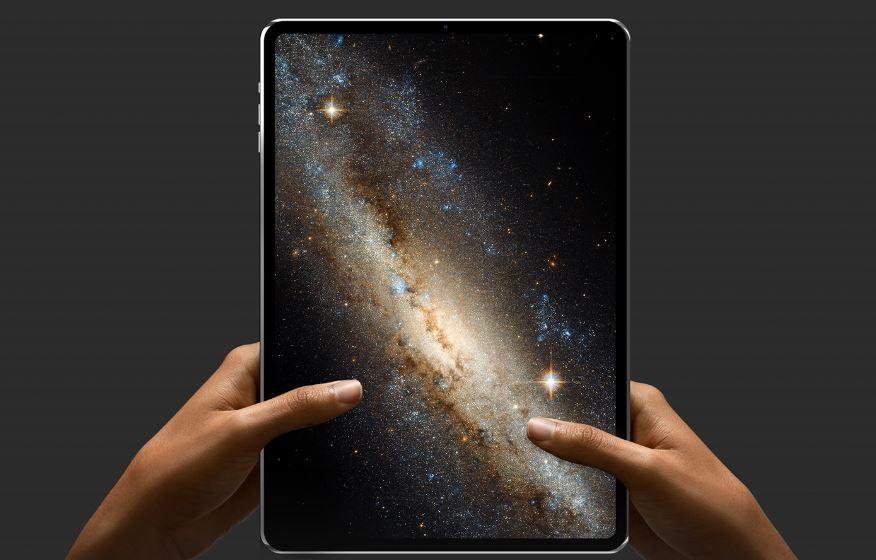 Un iPad Pro 2018 quasiment borderless, sans encoche et avec un double capteur photo