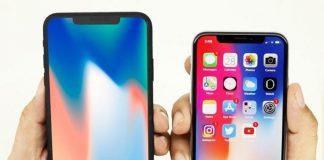 iPhone X Plus et iPhone X