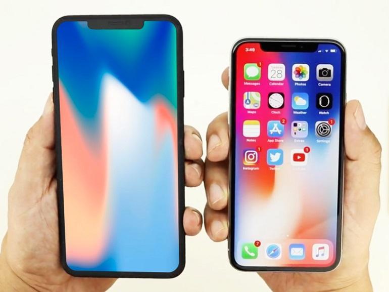 Face ID plus performant pour l' iPhone 2018, le modèle 6,5 pouces