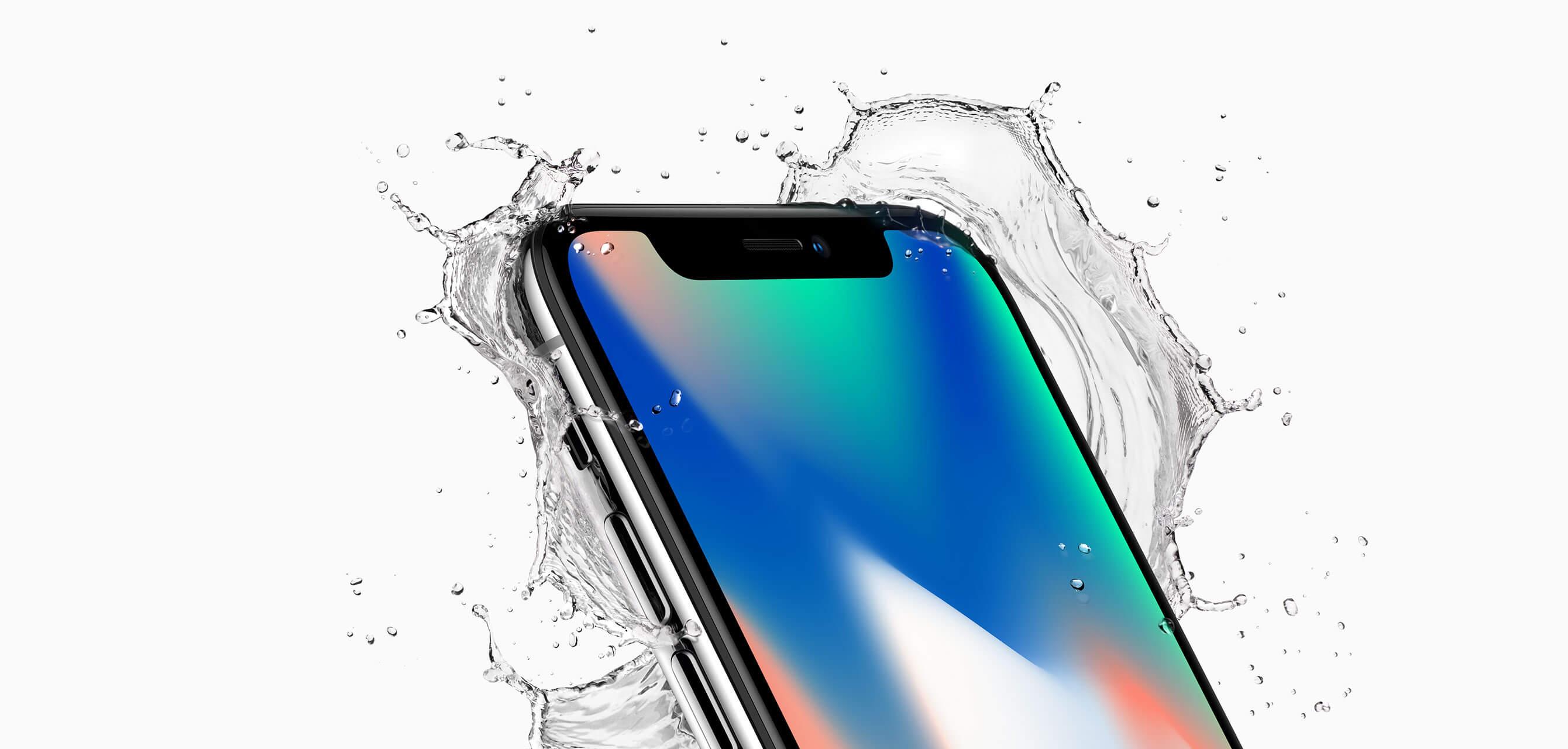 Un iPhone X résiste à une immersion dans une rivière pendant deux semaines