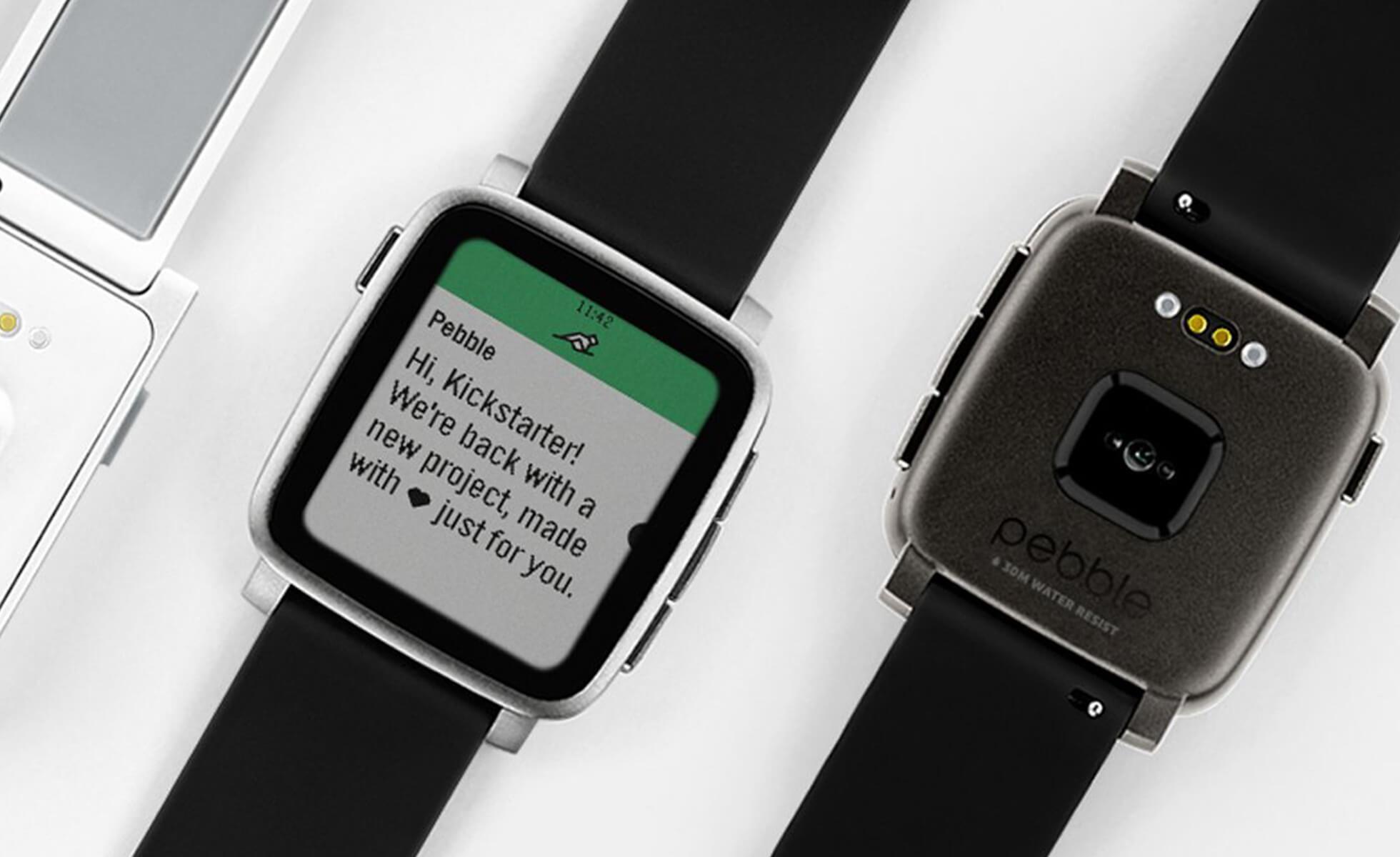 Rebble, une seconde vie pour les montres Pebble
