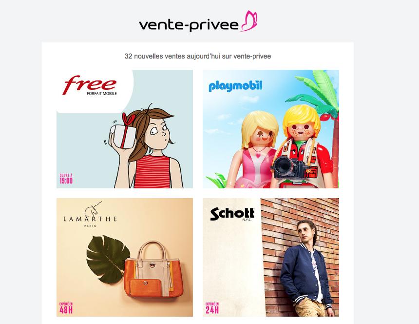 Free : nouvelle promotion à 19h sur Vente Privée !