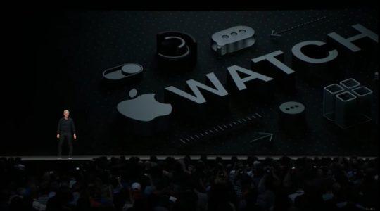 watch os 540x300 - WWDC 18 : en plus d'iOS 12 et autres OS, Apple présente implicitement l'iPad X