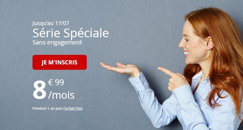 Free Mobile affiche un nouveau forfait 50 Go à 8.99 euros !