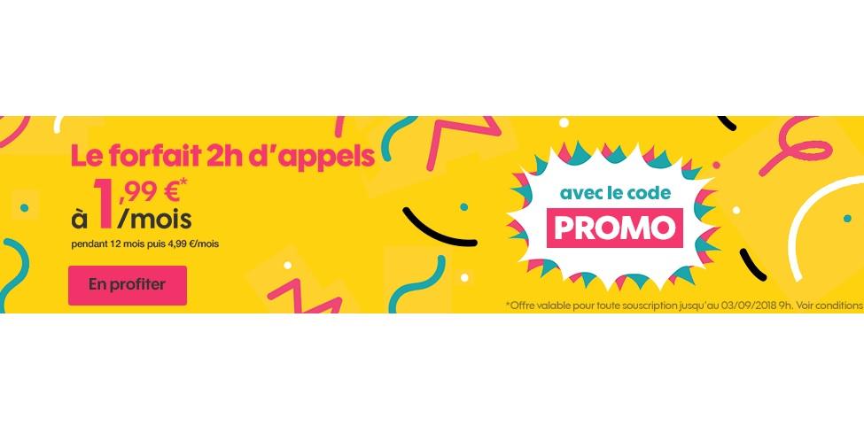 Sosh propose un forfait à moins de 2 euros !