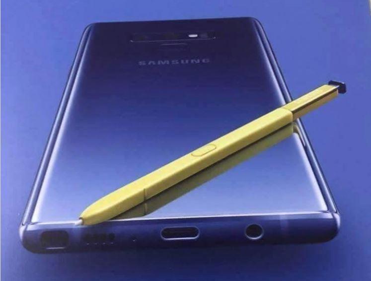 Galaxy Note 9 : les premiers clichés du smartphone dévoilés
