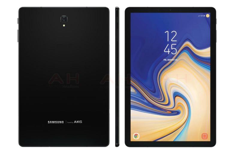 Samsung Galaxy Tab S4 : un écran 16:10, un Snapdragon 835 et une énorme batterie !