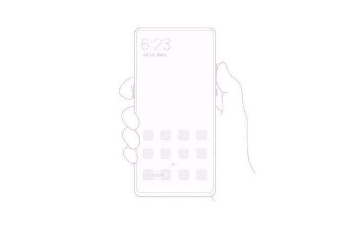 Un schéma du Xiaomi Mi Mix 3