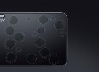 Le smartphone de Light avec 9 capteurs