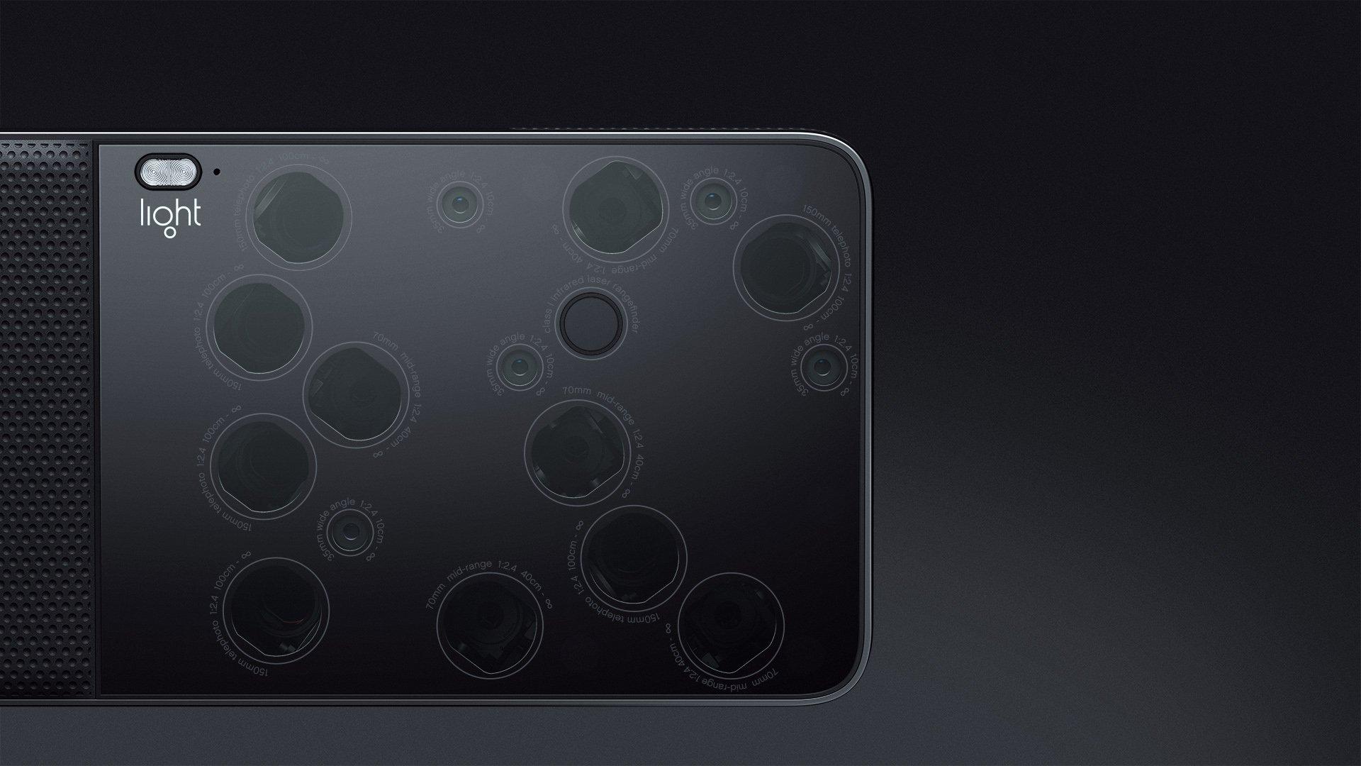 L'Américain Light veut concevoir un smartphone avec 9 capteurs photo !