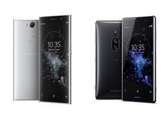 Sony Xperia XA2 Plus et Xperia XZ2 Premium
