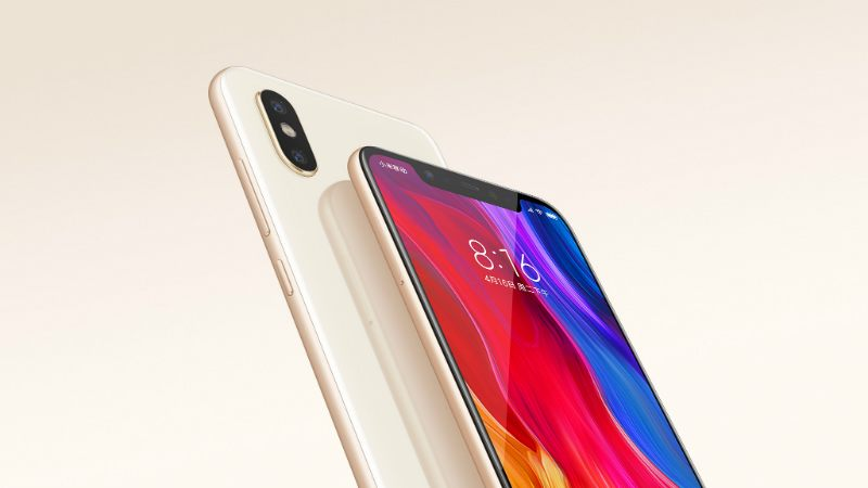 Soldes d'été 2018 : la version dorée du Xiaomi Mi 8 est à 404 euros sur GearBest
