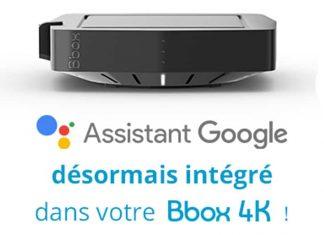 Google Assistant sur votre Bbox 4K
