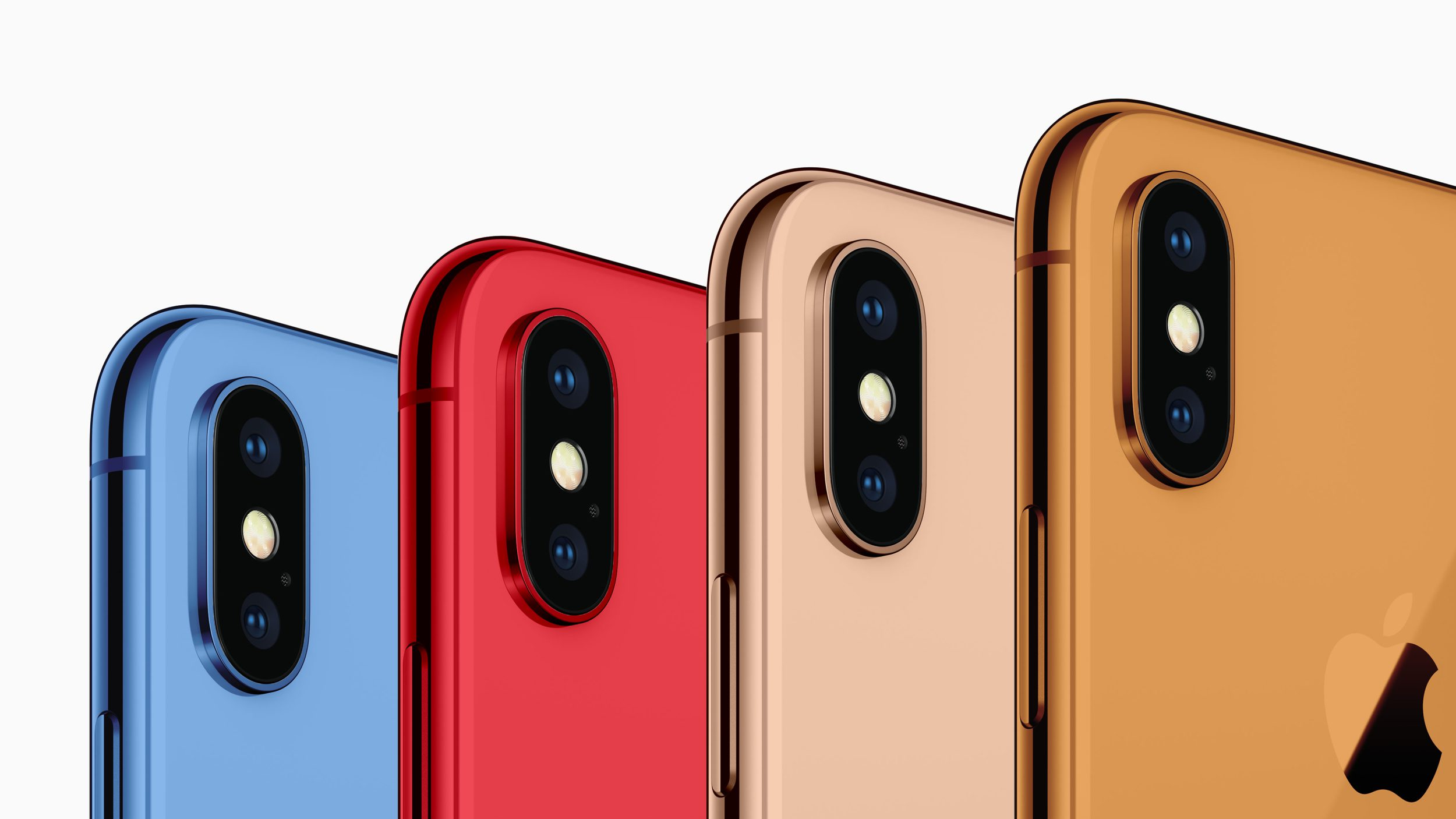 iPhone 2018 : 5 couleurs pour l'iPhone LCD !
