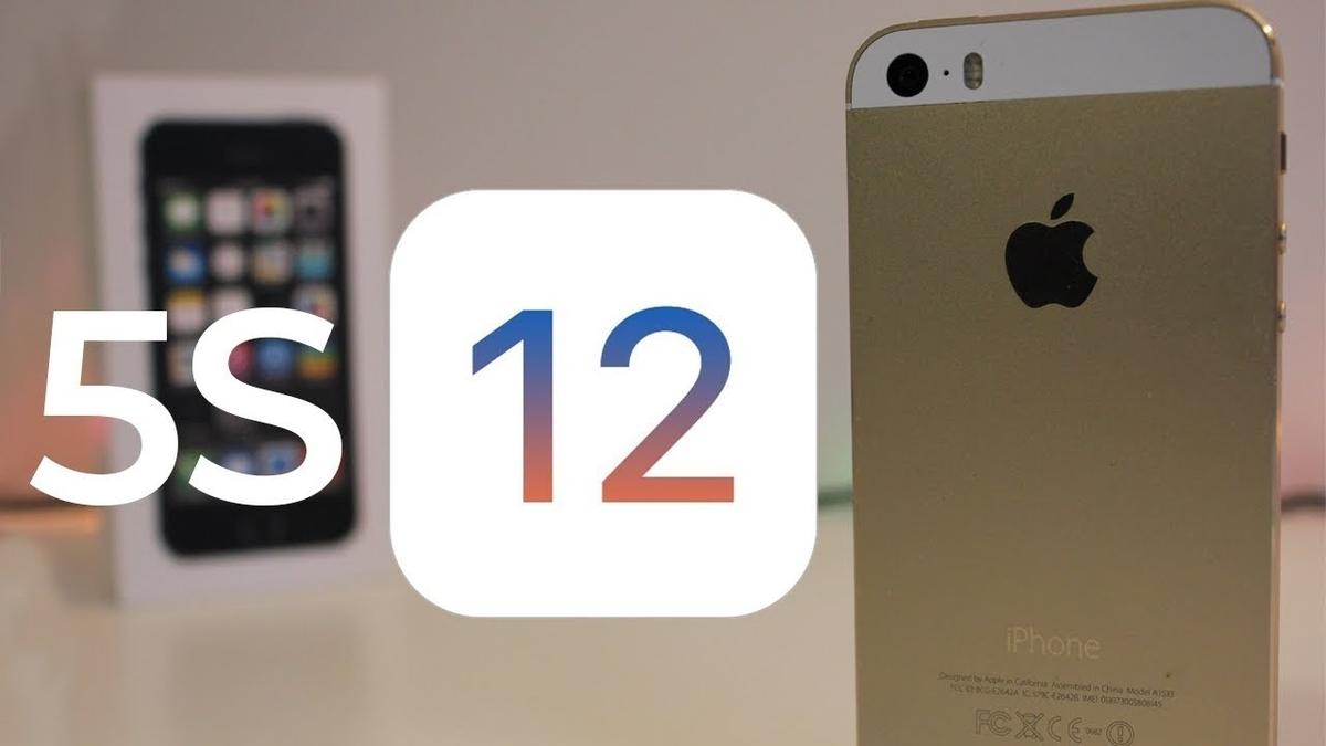 iOS 12 : l'iPone 5S plus réactif à cette dernière version iOS