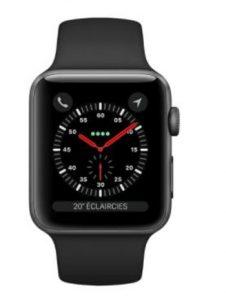 Apple Watch 3 GPS Alu 42mm Bracelet Sport