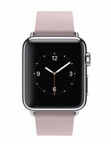 Apple Watch Acier 38mm Bracelet Boucle Moderne