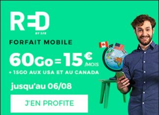 RED by SFR forfait 60 Go