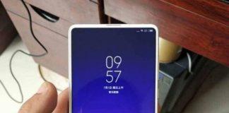 Le Xiaomi Mi Mix 3 blanc en balade