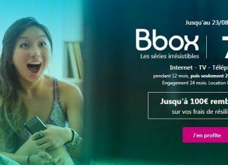 """Bbox """"Les séries irrésistibles"""" de Bouygues Telecom encore en promo"""