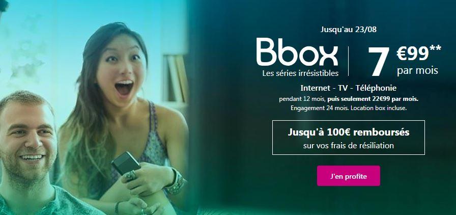 La Bbox à 7.99 euros de Bouygues Telecom joue les prolongations !