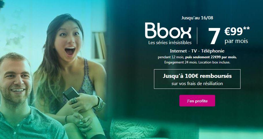 Bbox à 7.99 euros : derniers jours pour profiter de l'offre de Bouygues Telecom !