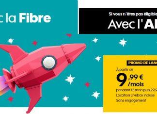 Sosh lance une box fibre et ADSL à 9.99 euros !